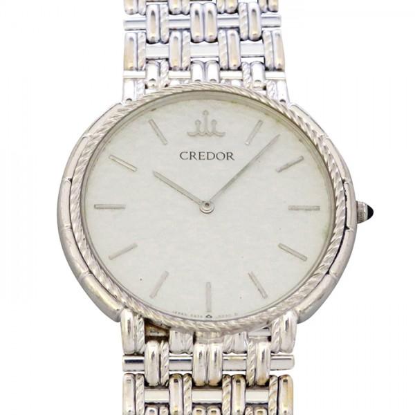 セイコー SEIKO その他 クレドール 5A74-0110 シルバー文字盤 メンズ 腕時計 【アンティーク】