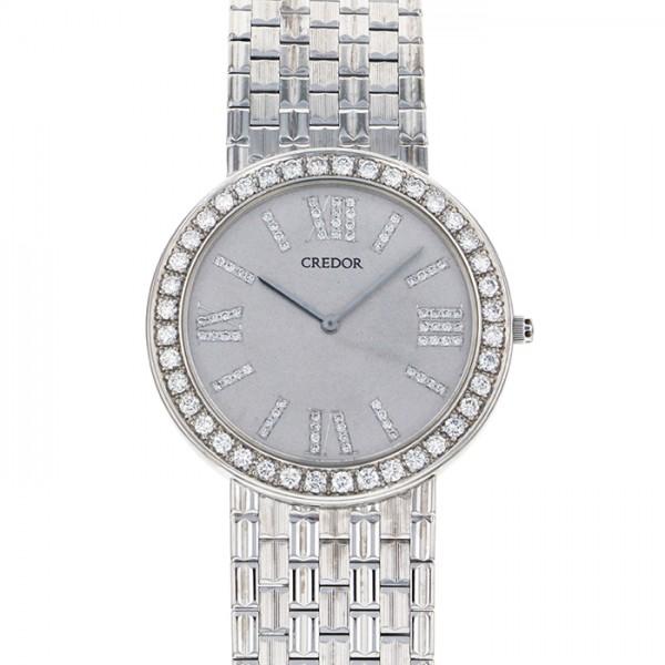 セイコー SEIKO その他 クレドール GBJX993 シルバー文字盤 レディース 腕時計 【アンティーク】