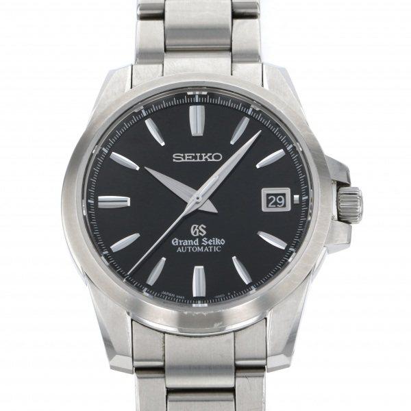 セイコー SEIKO その他 グランドセイコー メカニカル SBGR057 ブラック文字盤 メンズ 腕時計 【中古】