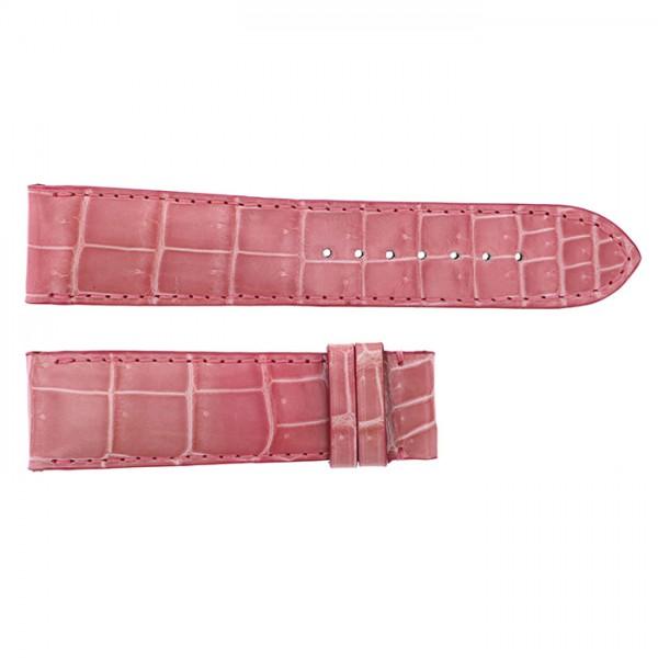純正ストラップ STRAP ジオ・モナコ サーモンピンククロコ 新品 腕時計替えベルト メンズ