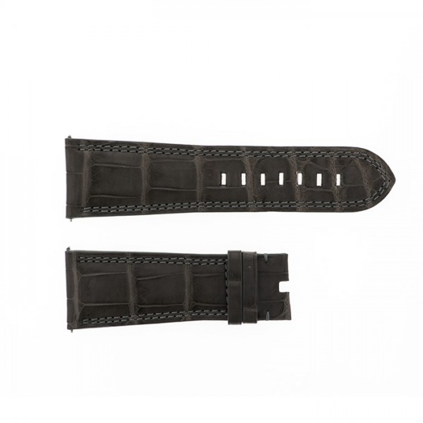 純正ストラップ STRAP デュナミス ヘラクレス用グレークロコ 新品 腕時計替えベルト メンズ