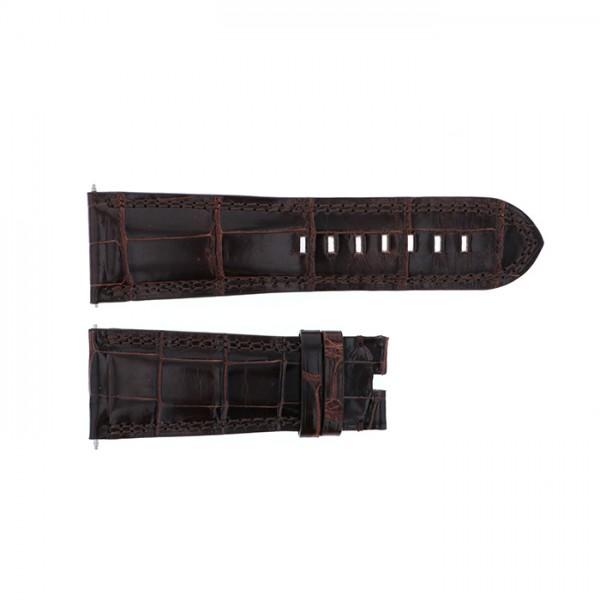純正ストラップ STRAP デュナミス ヘラクレス用レッドクロコ 新品 腕時計替えベルト メンズ