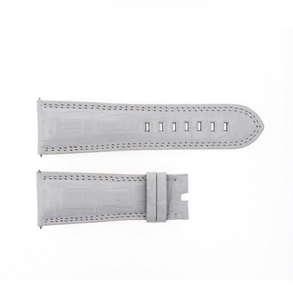 純正ストラップ STRAP デュナミス ヘラクレス用ホワイトクロコ 新品 腕時計替えベルト メンズ