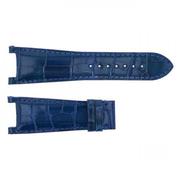 純正ストラップ STRAP ジオ・モナコ ジオポリス用 ブルークロコ 新品 腕時計替えベルト メンズ