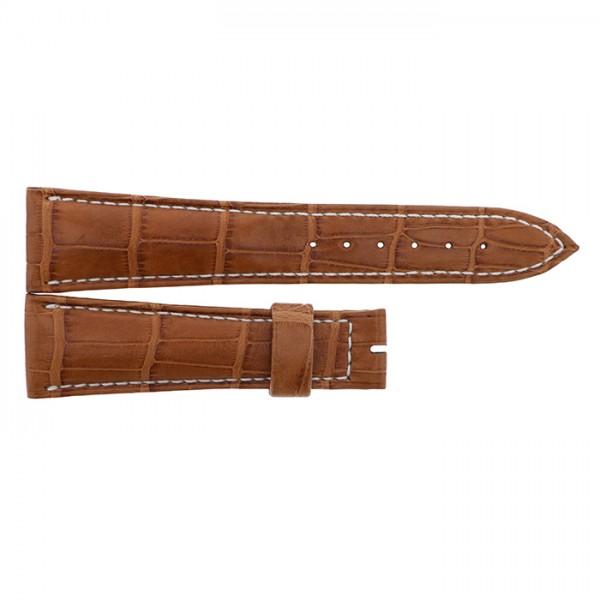 純正ストラップ STRAP ブレゲ ブラウンクロコ - メンズ 腕時計替えベルト 【新古品】