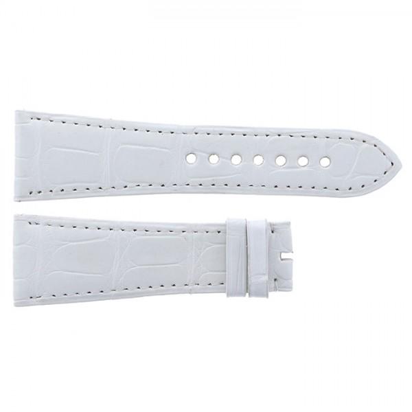 純正ストラップ STRAP カルティエ ホワイトクロコ 新古品 腕時計替えベルト メンズ
