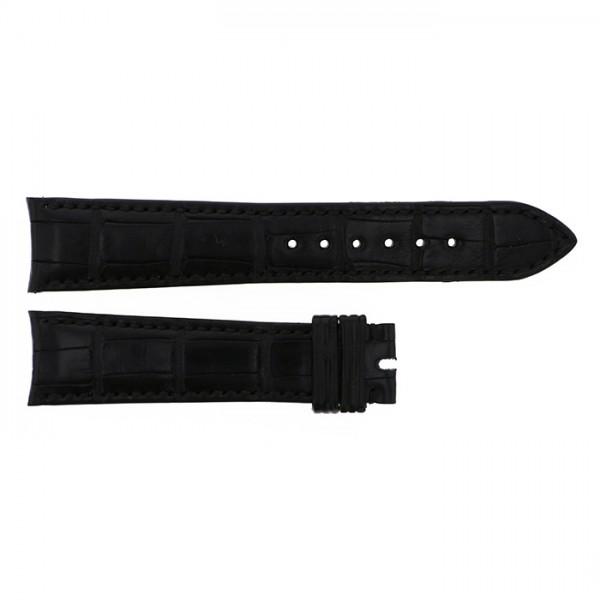 純正ストラップ STRAP ロレックス ブラッククロコ 新古品 腕時計替えベルト メンズ