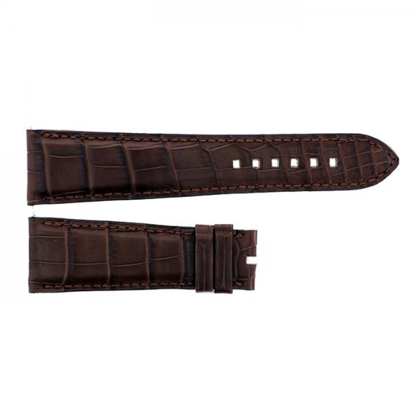 純正ストラップ STRAP ハリー・ウィンストン アヴェニューC クロノ用 ブラウンクロコ - メンズ 腕時計替えベルト 【新古品】