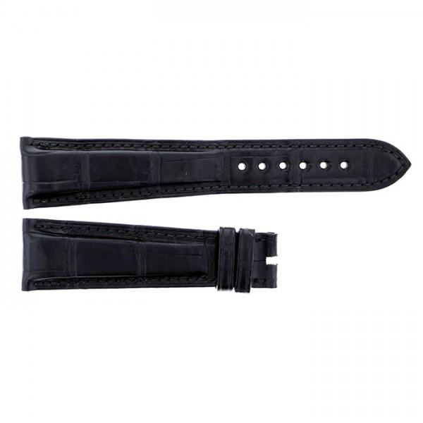 純正ストラップ STRAP ブルガリ ブラック クロコ 新古品 腕時計替えベルト メンズ