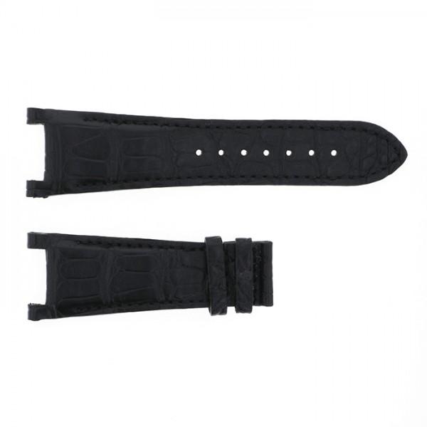 純正ストラップ STRAP ジオ・モナコ ブラックアリゲーター 新品 腕時計替えベルト メンズ