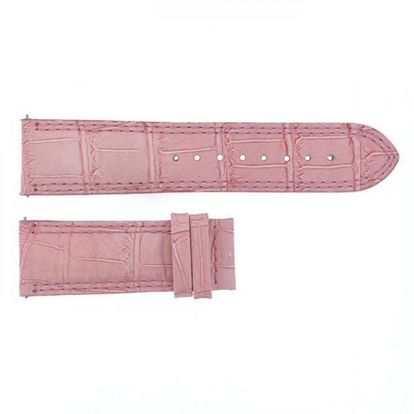 純正ストラップ STRAP デュナミス ピンククロコ 新品 腕時計替えベルト メンズ