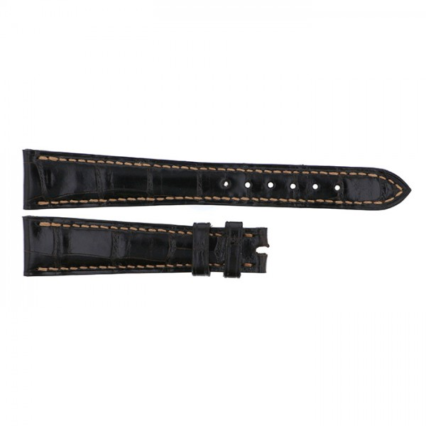 純正ストラップ STRAP パテック フィリップ ダークブラウンクロコ 新品 腕時計替えベルト メンズ