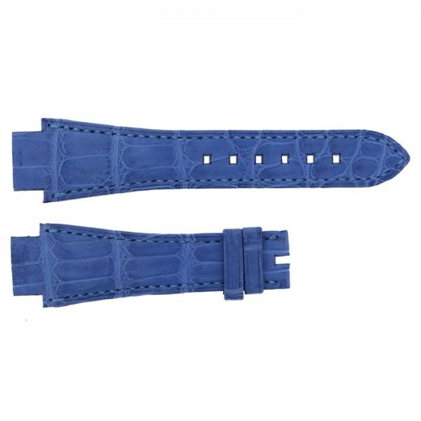 純正ストラップ STRAP ハリー・ウィンストン オーシャン36mm用 ライトブルークロコ 新品 腕時計替えベルト レディース