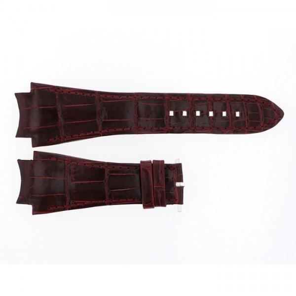 純正ストラップ STRAP ハリー・ウィンストン オーシャン44mm用 ボルドークロコ - メンズ 腕時計替えベルト 【新品】