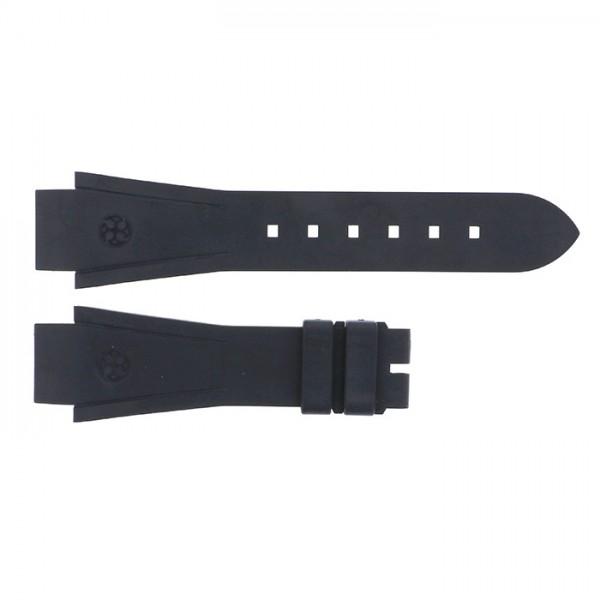 純正ストラップ STRAP ハリー・ウィンストン オーシャン36mm用 ブラックラバー 新品 腕時計替えベルト レディース