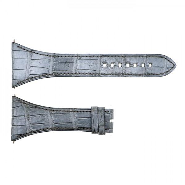 純正ストラップ STRAP ハリー・ウィンストン スクエアード用 グレークロコ - メンズ 腕時計替えベルト 【新品】