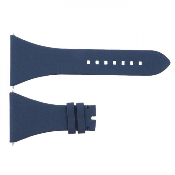 純正ストラップ STRAP ハリー・ウィンストン スクエアード用 ブルーサテン - メンズ 腕時計替えベルト 【新品】