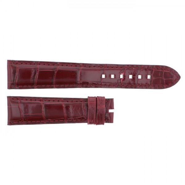 純正ストラップ STRAP ハリー・ウィンストン ブラウンクロコ - メンズ 腕時計替えベルト 【新品】
