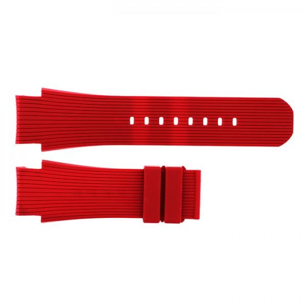 純正ストラップ STRAP クレール レッドラバー 新品 腕時計替えベルト メンズ