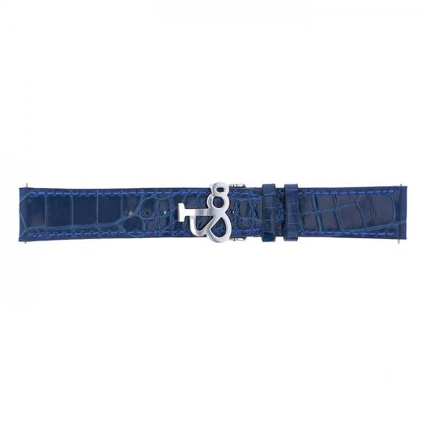 【期間限定ポイント3倍 8/2~8/9】 純正ストラップ STRAP ジェイコブ ブルークロコ(ショート) 新品 腕時計替えベルト メンズ