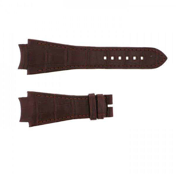 純正ストラップ STRAP ハリー・ウィンストン オーシャン用 ブラウンクロコ - メンズ 腕時計替えベルト 【新品】