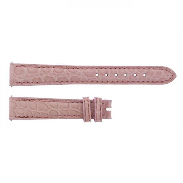 純正ストラップ STRAP フランク・ミュラー 1750/1752用 ピンククロコ 新品 腕時計替えベルト レディース