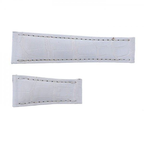 純正ストラップ STRAP ロレックス デイトナ用 ホワイトクロコ 新品 腕時計替えベルト メンズ