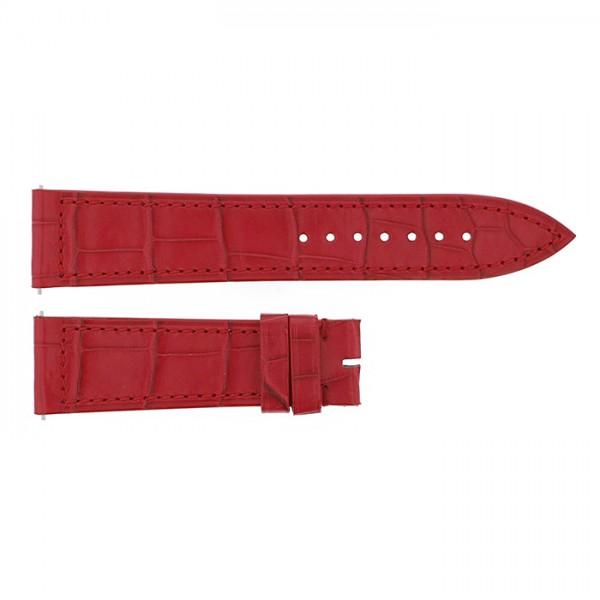 純正ストラップ STRAP フランク・ミュラー 950/952用 レッドクロコ 新品 腕時計替えベルト レディース