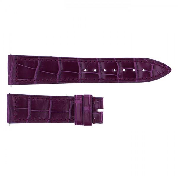 純正ストラップ STRAP フランク・ミュラー 950/952用 パープルクロコ 新品 腕時計替えベルト レディース