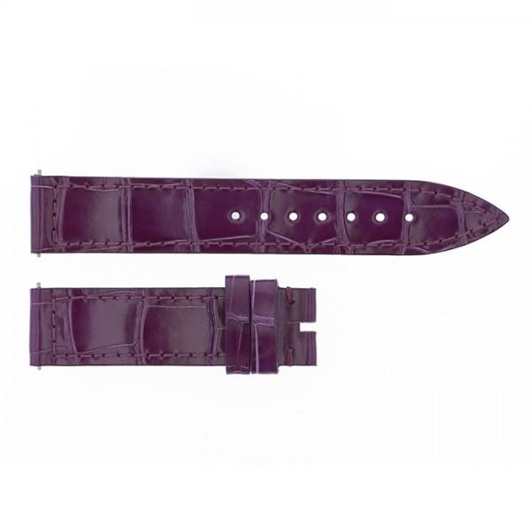 純正ストラップ STRAP フランク・ミュラー 900/902用 パープルクロコ 新品 腕時計替えベルト レディース