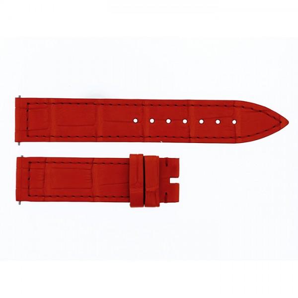 純正ストラップ STRAP フランク・ミュラー 900/902用 オレンジクロコ 艶無 新品 腕時計替えベルト レディース