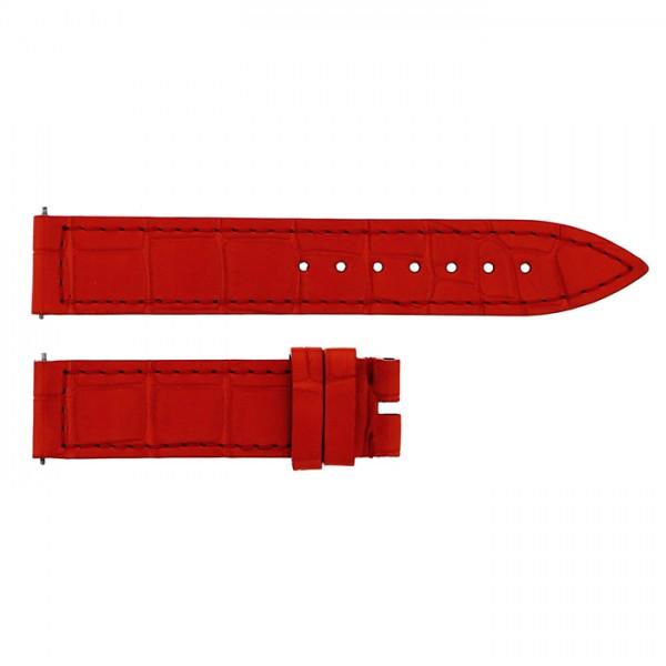 純正ストラップ STRAP フランク・ミュラー 900/902用 オレンジクロコ 新品 腕時計替えベルト レディース