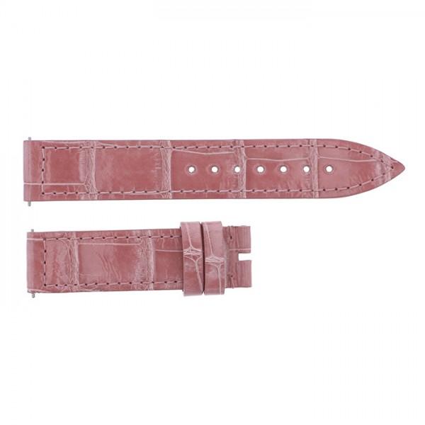 純正ストラップ STRAP フランク・ミュラー 900/902用 ピンククロコ 新品 腕時計替えベルト レディース