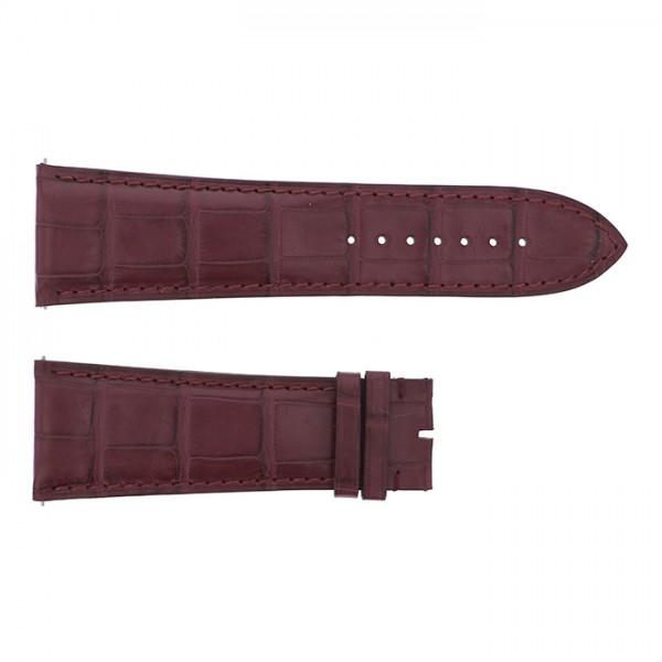 純正ストラップ STRAP フランク・ミュラー 10000K用 ブラウンクロコ 新品 腕時計替えベルト メンズ
