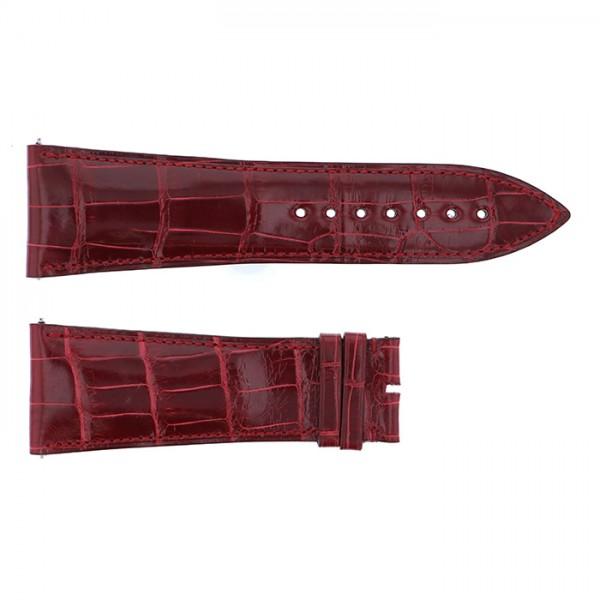 純正ストラップ STRAP フランク・ミュラー 10000K用 ボルドークロコ 新品 腕時計替えベルト メンズ