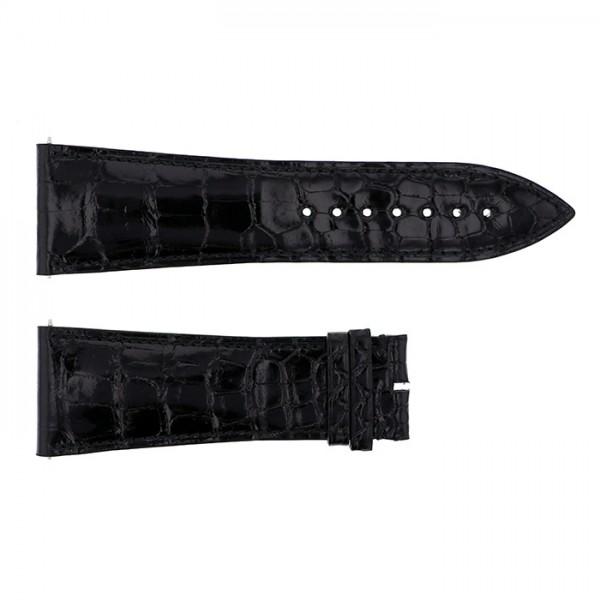 純正ストラップ STRAP フランク・ミュラー 10000K用 ブラッククロコ 艶有 新品 腕時計替えベルト メンズ