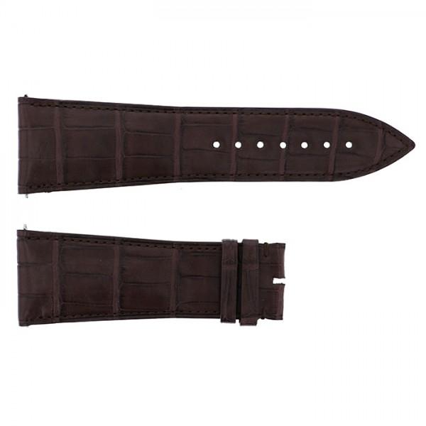 純正ストラップ STRAP フランク・ミュラー 10000K用 ブラウンクロコ 艶無 新品 腕時計替えベルト メンズ
