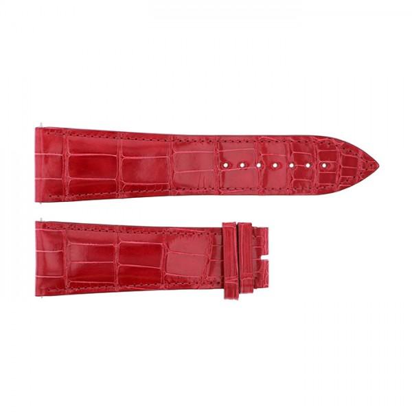 純正ストラップ STRAP フランク・ミュラー 10000H用 レッドクロコ 新品 腕時計替えベルト メンズ