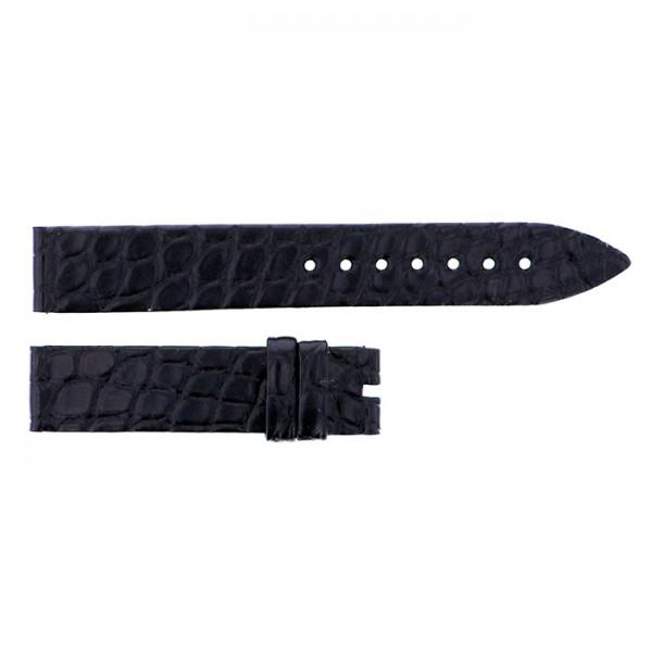 純正ストラップ STRAP フランク・ミュラー 5002用ブラッククロコ 艶無 新品 腕時計替えベルト レディース