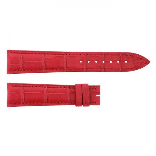 純正ストラップ STRAP フランク・ミュラー 6850用 レッドクロコ 艶無 新品 腕時計替えベルト メンズ