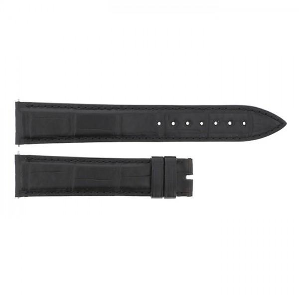 純正ストラップ STRAP フランク・ミュラー 5850用 ブラッククロコ 新品 腕時計替えベルト メンズ