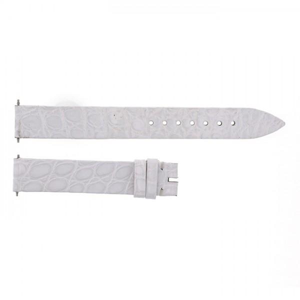 純正ストラップ STRAP フランク・ミュラー 802QZ用 ホワイトクロコ 艶有 新品 腕時計替えベルト レディース