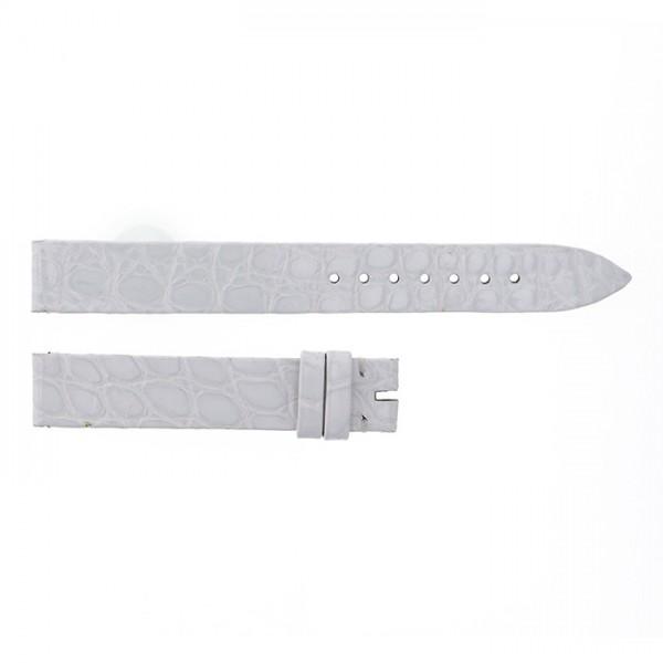 純正ストラップ STRAP フランク・ミュラー ホワイトクロコ 艶有 新品 腕時計替えベルト レディース