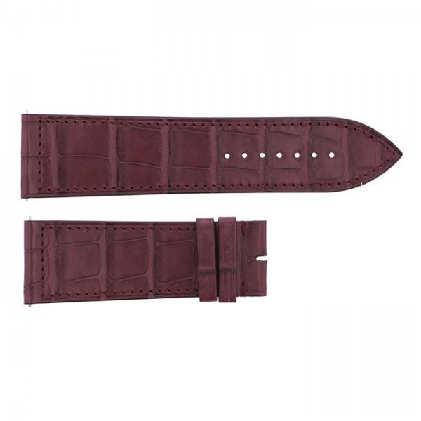 純正ストラップ STRAP フランク・ミュラー 1100/1150/1200/1250/1300/1350用 ボルドークロコ 新品 腕時計替えベルト メンズ