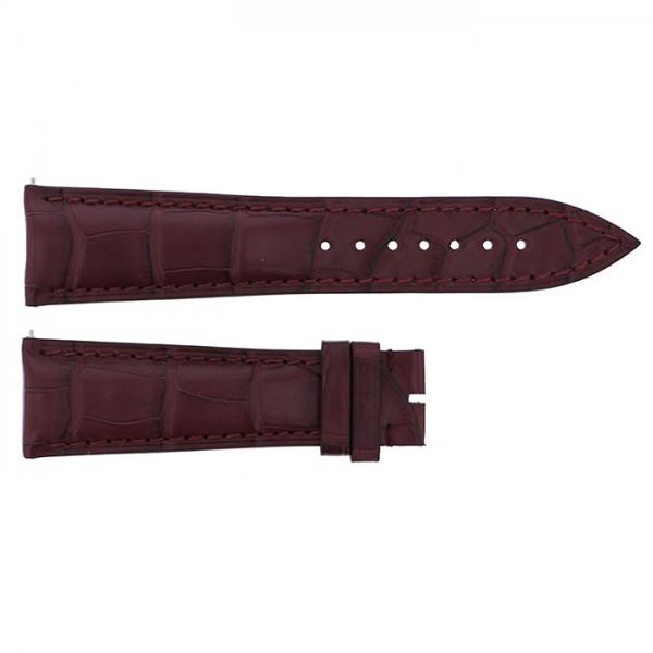 純正ストラップ STRAP フランク・ミュラー 8880用 ボルドークロコ 艶無 新品 腕時計替えベルト メンズ