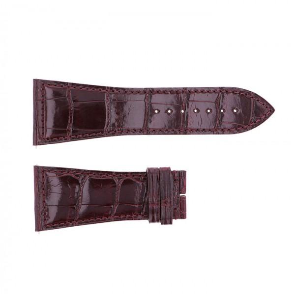 純正ストラップ STRAP フランク・ミュラー 6000K用 ボルドークロコ 新品 腕時計替えベルト メンズ