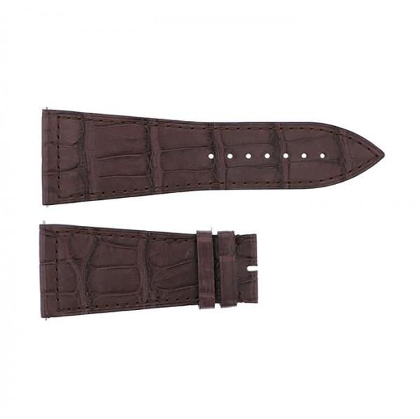純正ストラップ STRAP フランク・ミュラー 6000K用 ブラウンクロコ 新品 腕時計替えベルト メンズ