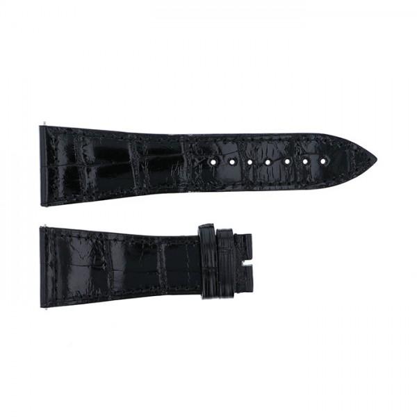 純正ストラップ STRAP フランク・ミュラー 6000H用 ブラッククロコ 新品 腕時計替えベルト メンズ