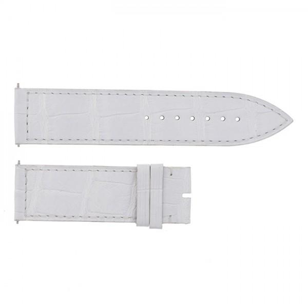 純正ストラップ STRAP フランク・ミュラー 1000/1002用 ホワイトクロコ 新品 腕時計替えベルト メンズ