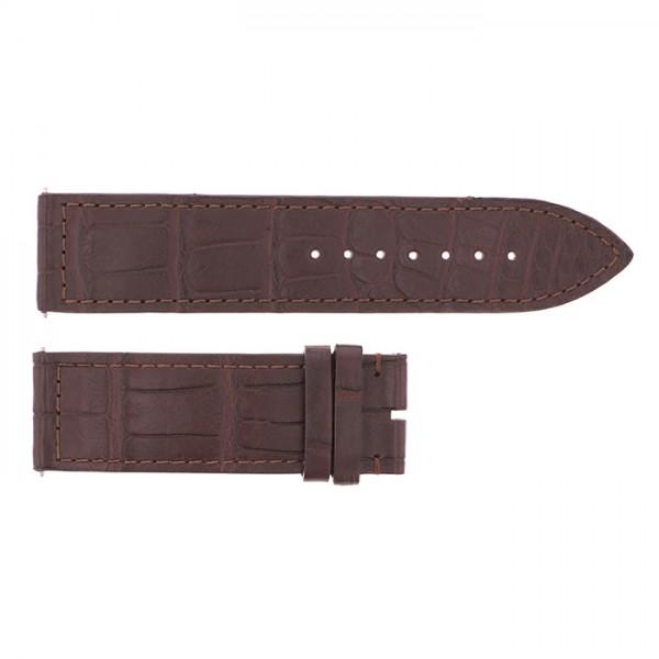 純正ストラップ STRAP フランク・ミュラー 1000/1002用 ブラウンクロコ 新品 腕時計替えベルト メンズ